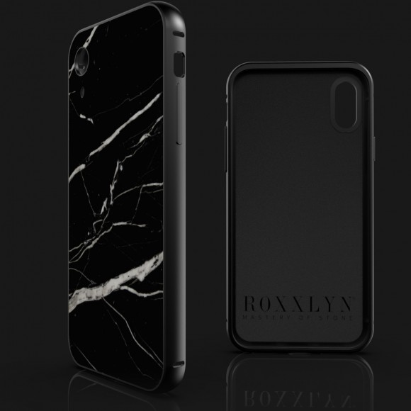 The iPhone Marble Case Nero Marquina