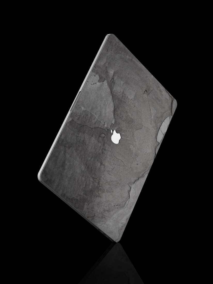 The MacBook Slate Skin Black Impact
