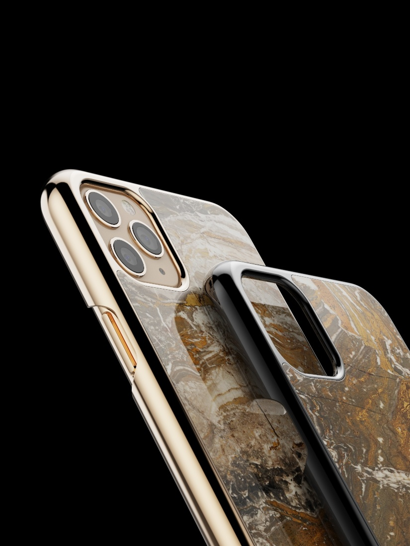The iPhone Marble Case Arabescato Orobico Grigio