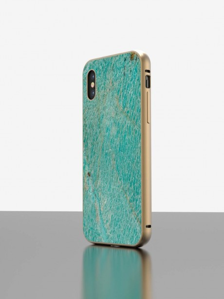The iPhone Quartzite Case Amazonite