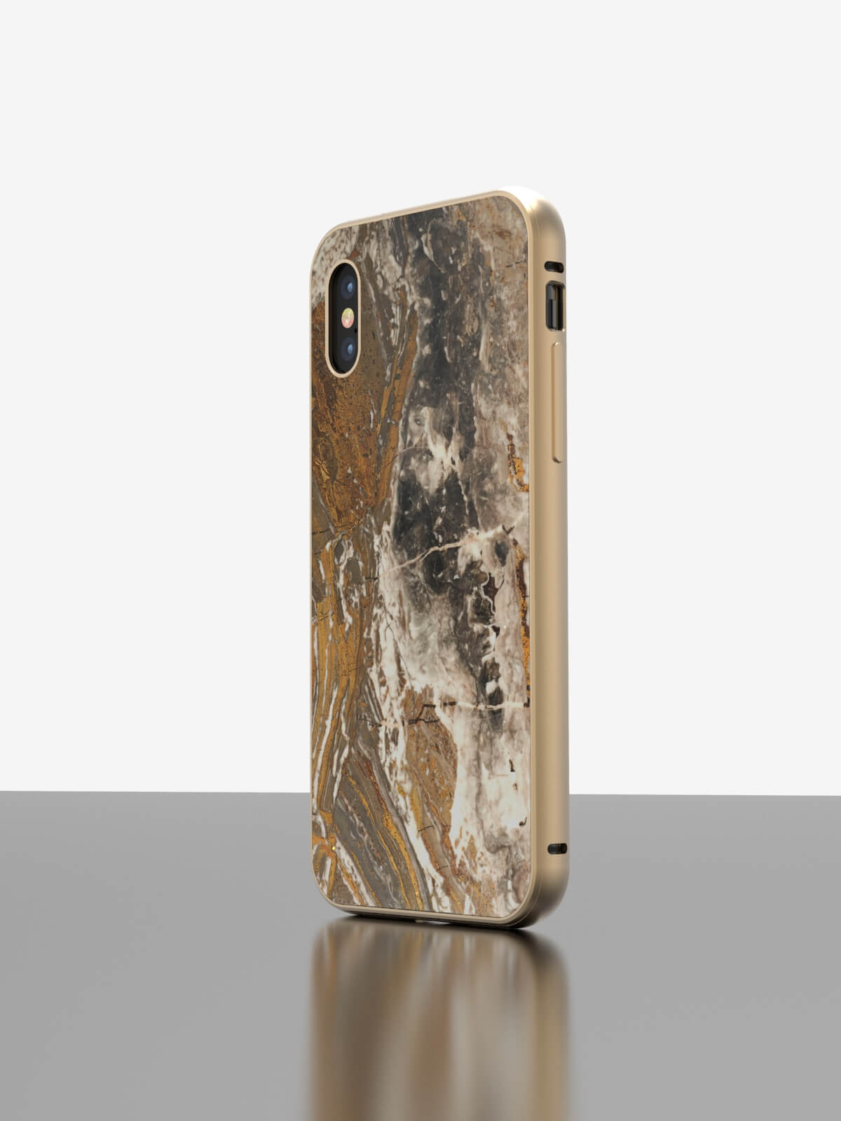 The iPhone Marble Case Arabescato Orobico Grigio
