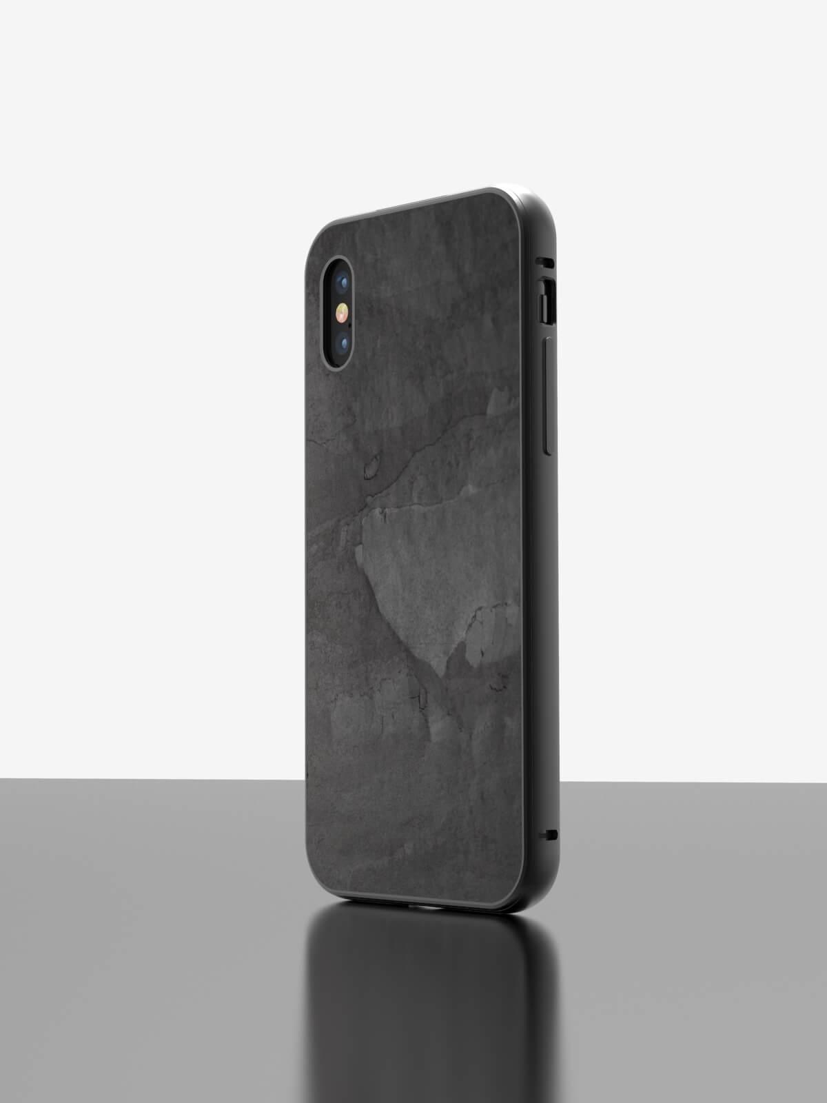 The iPhone Slate Case Black Impact