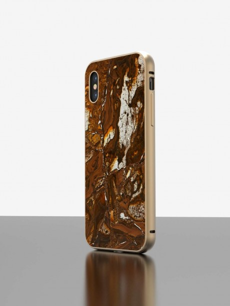 The iPhone Precious Stone Case Tigers Eye