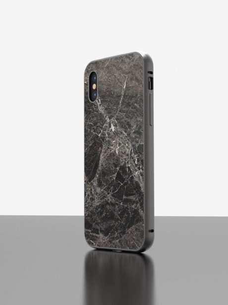 The iPhone Marble Case Emperador Grey
