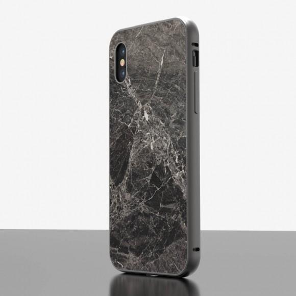 The iPhone Marble Case Emperador Grey