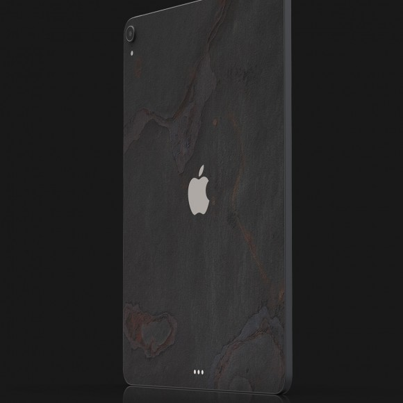 The iPad Slate Skin Vulcano Dust