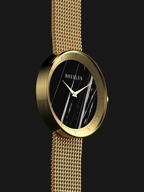 The Marble Watch Nero Marquina
