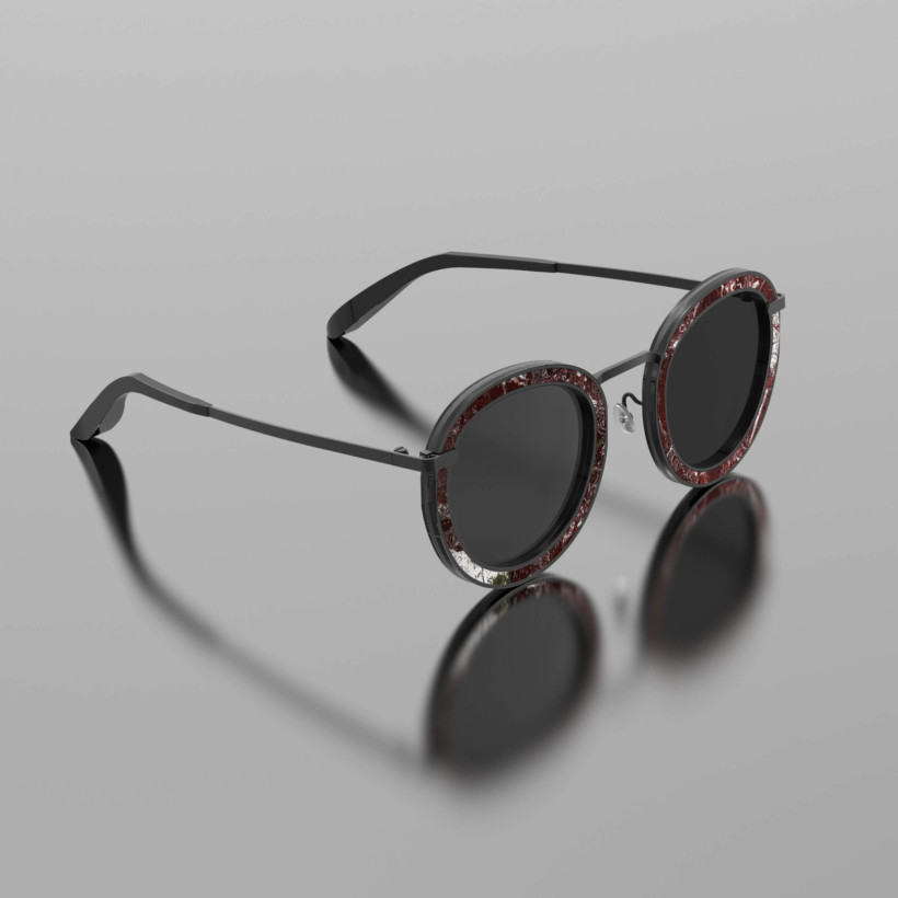 The Real Marble Sunglasses Cyrus