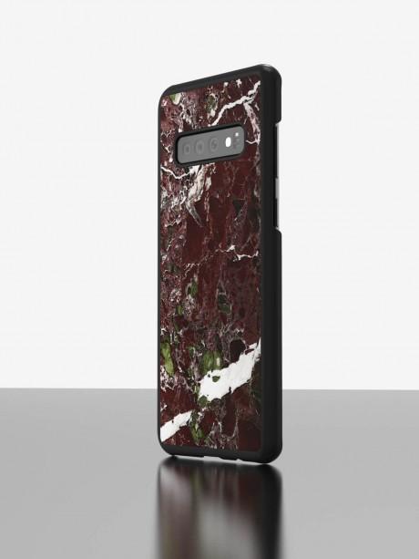 The Galaxy S10 Marble Case Rosso Levanto