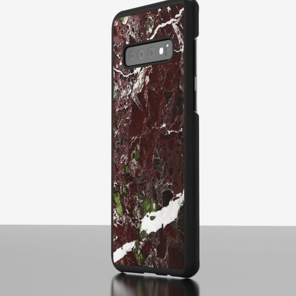 The Galaxy S10 Marble Case Rosso Levanto
