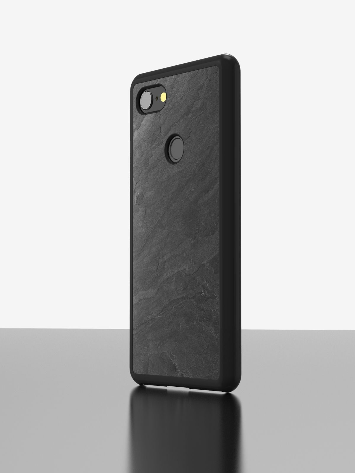 The Real Slate Case Google Pixel Black Impact