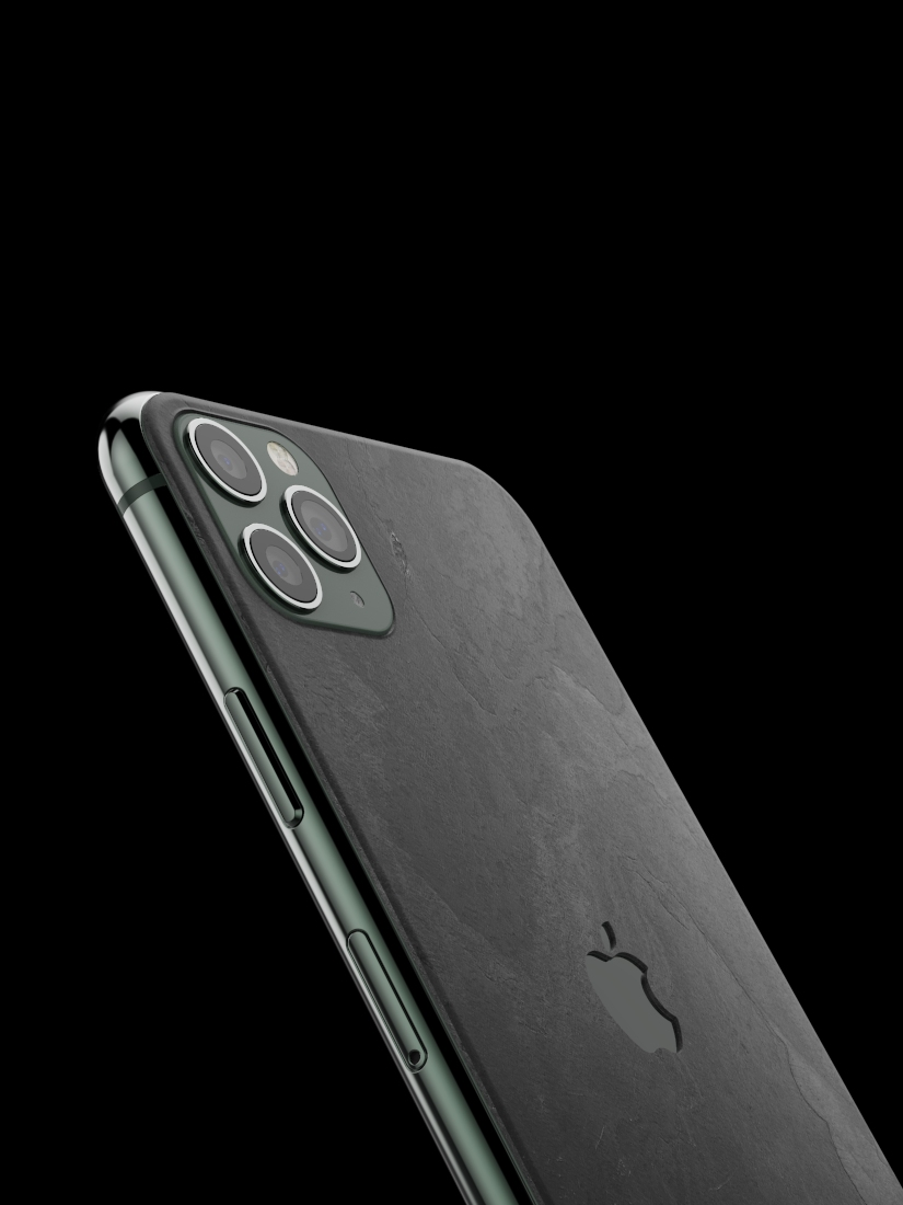 The iPhone Slate Skin Black Impact