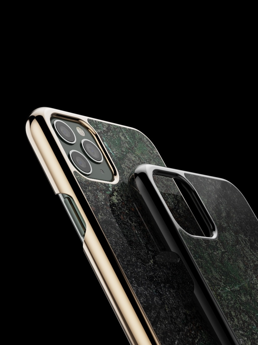 The iPhone Granite Case Verde Melograno