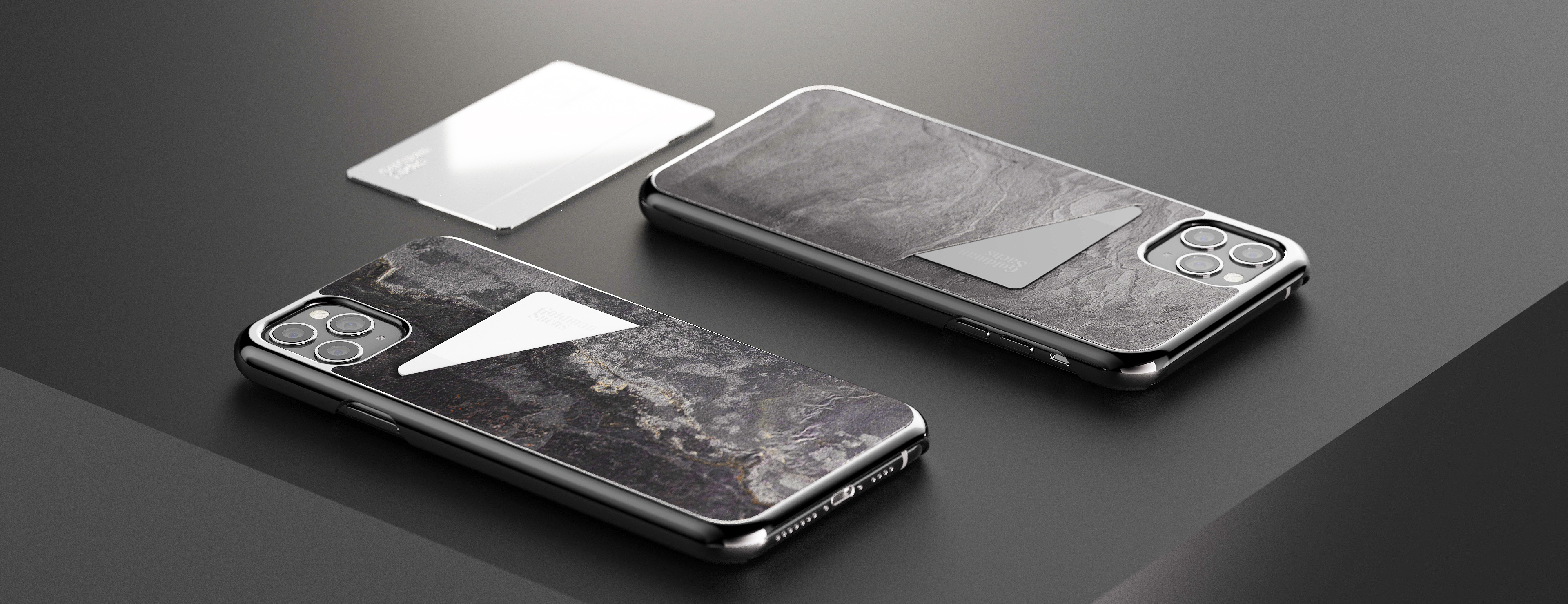 The iPhone Wallet Slate Case